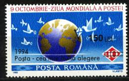 Rumania 1994 Mi. 5032 , Yvert 4198 , Scott # 3945 MNH - 1948-.... Repúblicas