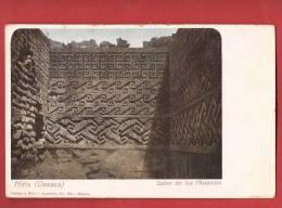 Q0379 Mitla Oaxaca Salon De Los Mosaicos, Pioneer, Non Circulé. - Mexiko
