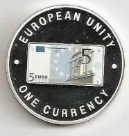 ZAMBIA 1999, 1000 KWACHA PROOF - NOTE 5 EURO FRONT - Zambia