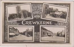 Crewekerne, Multi View. Post Used 1906 - Non Classificati
