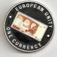 ZAMBIA 1999, 1000 KWACHA PROOF - NOTE 10 EURO BACK - Zambia