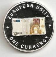 ZAMBIA 1999, 1000 KWACHA PROOF - NOTE 10 EURO FRONT - Zambia