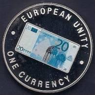 ZAMBIA 1999, 1000 KWACHA PROOF - NOTE 20 EURO FRONT - Zambia