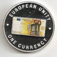 ZAMBIA 1999, 1000 KWACHA PROOF - NOTE 50 EURO FRONT - Zambia