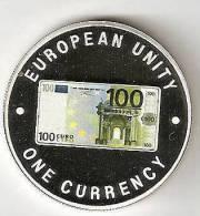 ZAMBIA 1999, 1000 KWACHA PROOF - NOTE 100 EURO FRONT - Zambia