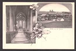 AU59) Melk An Der Donau - Stadtpfarrkirche - Undivided Back - Melk