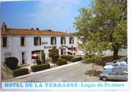 MAULEON HOTEL DE LA TERRASSE D DURAND CHEF DE CUISINE - PLACE DES TERRASSE - ED CIM - CPSM ECRITE NON TIMBREE - Mauleon
