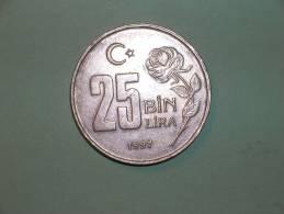 Turquia 25 Bin Lira  1997 (3834) - Turquia