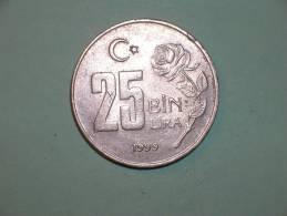 Turquia 25 Bin Lira  1999 (3835) - Turquia