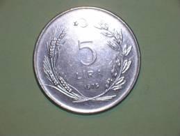 Turquia 5 Liras  1979 (3842) - Turquia