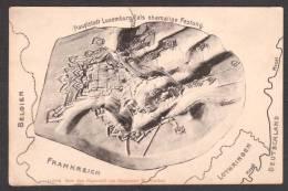 LU13) Hauptstadt Luxemburg Als Ehemalige Festung - 1918 - Luxemburg - Town