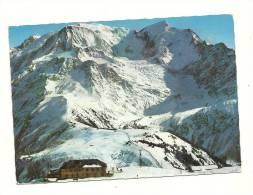 Cp, 74, AU Pays Du Mont-Blanc, Le Prairion, Bellevue Et Le Dôme Du Goûter, Voyagée 1967 - Sin Clasificación