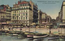 CPA Marseille: La Cannebiére. - Canebière, Centro