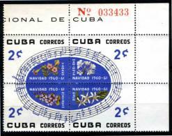 CUBA - 1960 - CHANTS DE NOEL - FLEURS - Musica