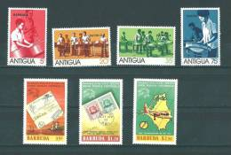 Barbuda: 161/ 164 + 172/ 174 ** - Antigua Et Barbuda (1981-...)