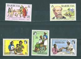 Barbuda:  83/ 84 + 88/ 90 ** - Antigua Et Barbuda (1981-...)