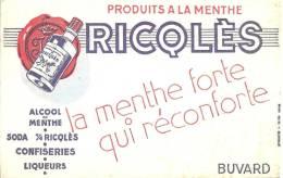 Buvard    Alcool De Menthe Ricqles La Menthe Forte Qui Réconforte - A