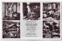 Champery.Pension-Chalet Des Dents Blanches.Mme Ansermoz. - VS Valais
