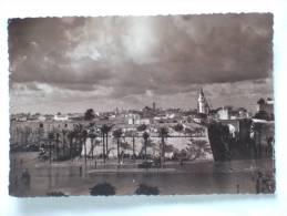 """Tripoli D'Africa. Veduta Della Citta Vecchia Dalla Finestre Del """"Grande Albergo Nazionale"""". Voeux Nouvel An - Libye"""