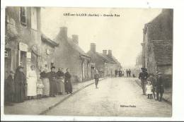 CRE-sur-LOIR  - Sarthe - Grande Rue - Autres Communes