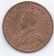 AUSTRALIA ONE HALF PENNY 1913 - Moneta Pre-decimale (1910-1965)