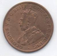 AUSTRALIA ONE HALF PENNY 1922 - Moneta Pre-decimale (1910-1965)