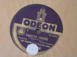 78TJazz , Chanson Orchestre Musette Tony Murena - 78 Rpm - Gramophone Records