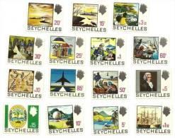 1969 - Seychelles 252/66 Ordinaria, - Seychelles (1976-...)