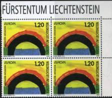 PIA - LIECHTENSTEIN - 2006 : Europa - (Un 1343-44 X 4) - 2006