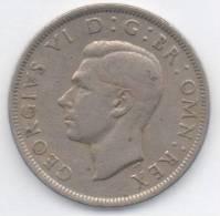 GRAN BRETAGNA HALF CROWN 1949 - K. 1/2 Crown