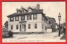 CPA: Etats-Unis - Newport (Rhode Island) Vernon House Rochambeau's Headquarters - Newport