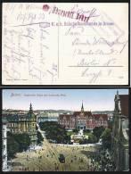 A1261) Österreich Austria Feldpostkarte Von Brünn N. Berlin Mit Zensur BRÜNN - 1850-1918 Imperium