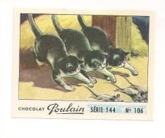 IMAGE CHOCOLAT POULAIN .SERIE 144   N° 106. - Poulain