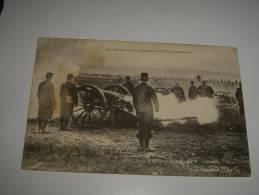 Aux Ecoles A Feu Canons De 90  De Campagne-1906-chamelet Obliteration - France