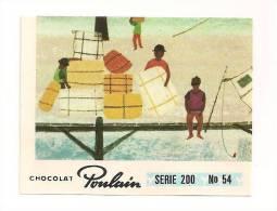 IMAGE CHOCOLAT POULAIN .SERIE 200   N° 54. - Poulain