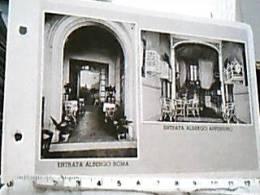 BORGOTARO  BORGO VAL DI TARO PARMA ENTRATA ALBERGO  ROMA E APPENNINO N1930 DX4298 Fori ARCHIVIO - Parma