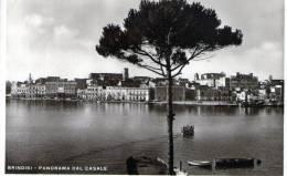 "Cartolina  D´epoca        ""  Brindisi - Panorama Dal Casale   "" - Brindisi"
