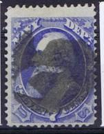 USA, 1873 Service Navy Nr  Mi 39, Used, 7 Cents ,  Irregular Perforation - Dienstzegels