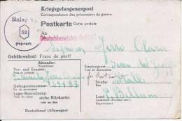 Ww2 Prigionieri Di Guerra - Corrispondenza Dalla Germania Per Seren Del Grappa (Belluno) - Prigione E Prigionieri