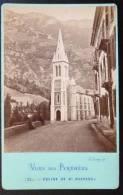 PHOTO CDV XIXeme : EGLISE DE SAINT-SAUVEUR 65 PYRENEE  E. LAMPY - Unclassified