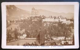 PHOTO CDV XIXeme : SAINT-BERTRAND DE COMMINGES PRES DE LUCHON PAR E. SOULE PYRENEES - Photographs