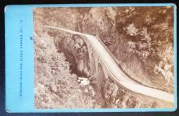 PHOTO CDV XIXeme : LE HOURAT ROUTE DES EAUX-CHAUDES 64 PYRNEES - Unclassified