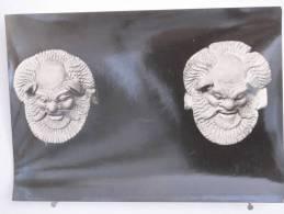 Italie - Gela - Museo Nazionale - Antefisse Sileniche Di Fabbrica Locale - Scan Recto-verso - Gela