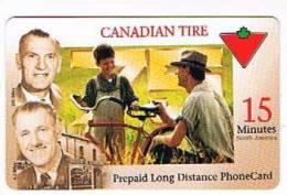 CANADA  -  CTN  (REMOTE) -  CANADIAN TIRE      (TIRAGE 3150)     - USED  -  RIF. 395 - Canada