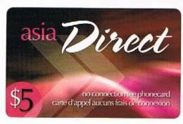 CANADA  -  DIRECT  (REMOTE) - ASIA  - USED  -  RIF. 423 - Canada