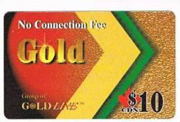 CANADA  - GOLD LINE  (REMOTE) -  10 - USED - RIF. 428 - Canada