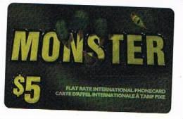 CANADA  - MONSTER  (REMOTE) -  5 $  - USED  - RIF. 430 - Canada