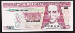 GUATEMALA  P111b 10  QUETZALES  17.1.2007  Printer CBN    UNC. - Guatemala