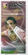 Italia 2003/4 U.S. Città Di Palermo Collezione Medaglia Luca Toni - Italië