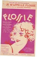 1929 - FLOSSIE - Opérette En 3 Actes - Jacqueline FRANCELL - Editions Salabert - Musique & Instruments